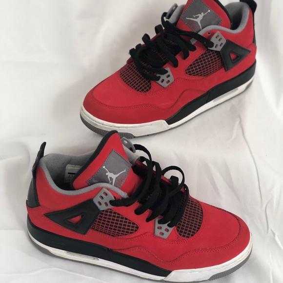 Jordan Shoes | Red Retro Jordan | Poshmark